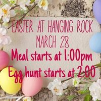 Easter at Hanging Rock
