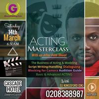 Acting Masterclass (One Day)