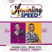 Anointing for Speed