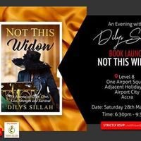 Not This Widow Book Launch - An Evening with Dilys Sillah