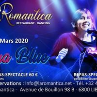 Mina Blue à la Romantica