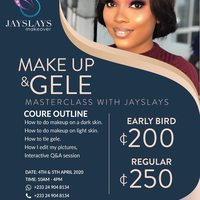 MAKE UP AND GELE Masterclass with Jayslays