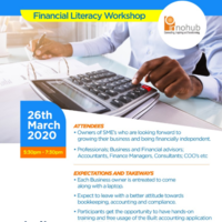 The Essence of Bookkeeping and Accounting in Business (Workshop)