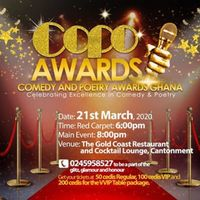 Comedy and Poetry Awards
