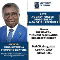 Aggrey-Fraser-Guggisberg Memorial Lectures 2020