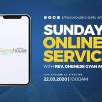 Sunday Online Service.