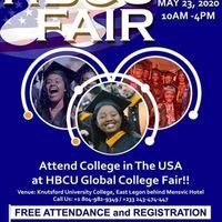 Attend College In The USA at HBCU Global College Fair.