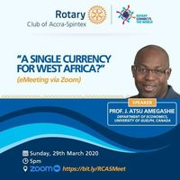 A single currency for West Africa?.