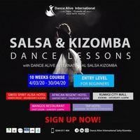 Salsa & Kizomba Dance Lessons