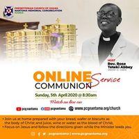 Online Communion Service