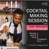 Cocktail Making Session Instagram Live