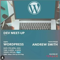 Dev Meet -Up WordPress Website