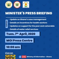 Minister's Press Briefing