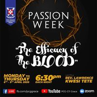 PASSION WEEK | THE EFFICACY OF THE BLOOD