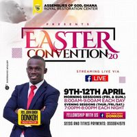Easter Convention 2020. RRC AG Buduburam