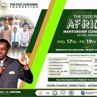 PLO Africa Mentorship Conference, Accra 2020.