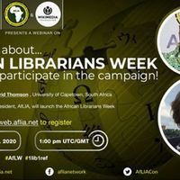 African Librarians Week & How to Participate. AfLibWk & 1lib1ref