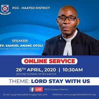 District Online Service- 2nd Sunday After Easter