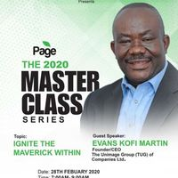 The Page Master Class February Event