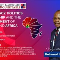 Democracy, Politics, Leadership and the Development of Africa