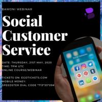 Webinar: Social Customer Service I