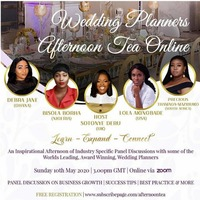 Wedding Planners Afternoon Tea Online