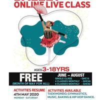 Ballet Online Live Class