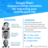 Google Meet: Communication remedies for improving your remote work life.