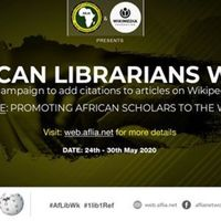 African Librarians Week - #AfLibWk