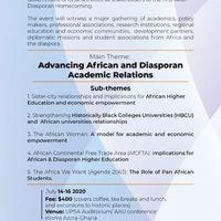AAU Diasporan Home-Coming 2020