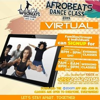 Afrobeats Dance Class Goes Virtual