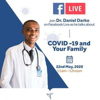 NYAHO FACEBOOK LIVE WITH DR. DARKO