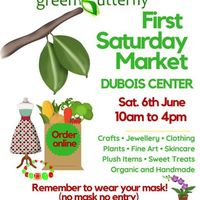 Green Butterfly ARTISAN MARKET- 6TH JUNE AT DUBOIS CENTER