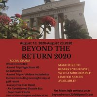 Beyond Return 2020 Ghana