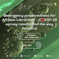 Emergency preparedness for African Librarians