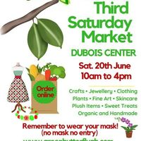 GREEN BUTTERFLY MARKET - 20th JUNE AT DUBOIS CENTER