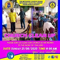 Church clean up