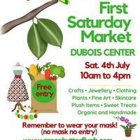 Green Butterfly Artisan Market At DUBOIS CENTER 4th JULY 2020