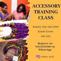 Accessory Training Workshop - Accra