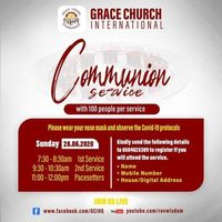 JUNE Communion Service