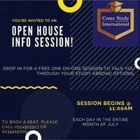 Open House Info Session