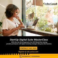 Startup Digital Suite Masterclass - Webinar