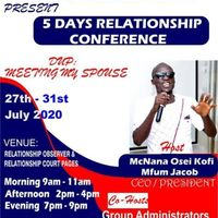 A 5 DAYS RELATIONSHIP CONFERENCE