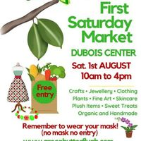 Green Butterfly ARTISAN MARKET At DUBOIS CENTER 1ST AUGUST 2020