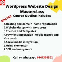 Wordpress Website Design Masterclass