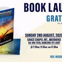 Gratitude Book Launch
