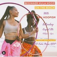 Beginner Hula Loop On The Beach With ZBU Hoopism