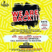 Afrobeats Dance Class Is Back!!!