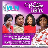 WOMAN WITHOUT LIMITS 2020 Int'l Women's Conf.