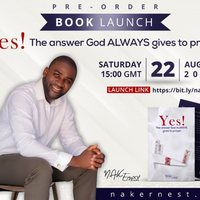 [Book Launch 22 August, 2020] YES! by NAK Ernest